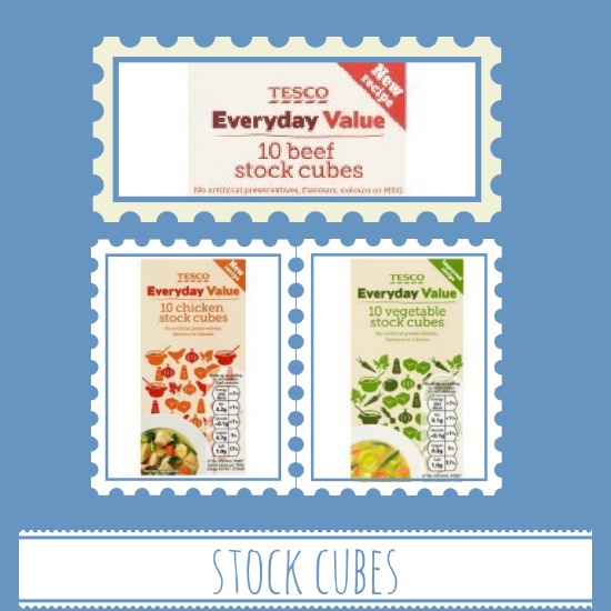 Tesco stock cubes