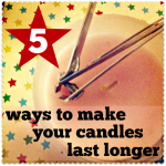 make candles last longer