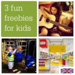 3 fun freebies for kids