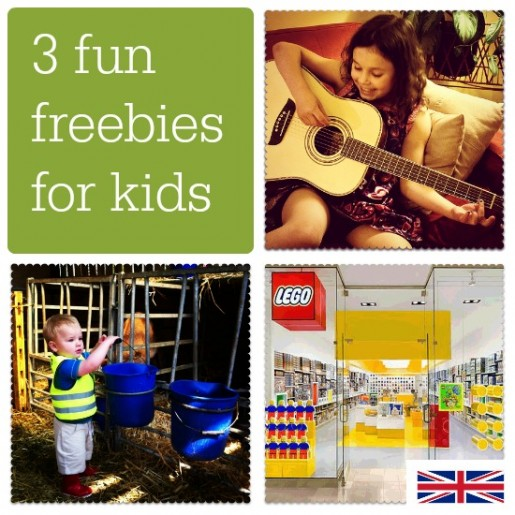 3 fun freebies for kids