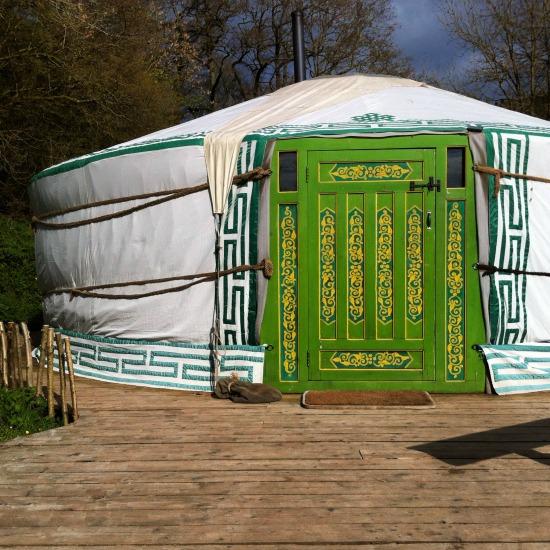 yurt in wales