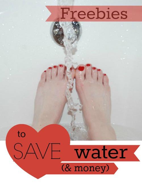save water save money