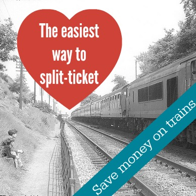 split-ticket on trains