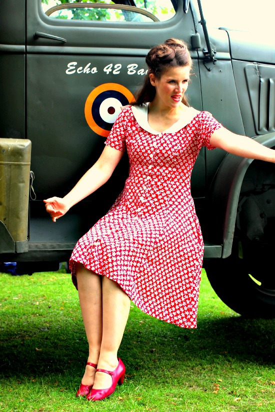 Upcycle A Dress From Cotton Frock To Tea Dress Miss Thrifty