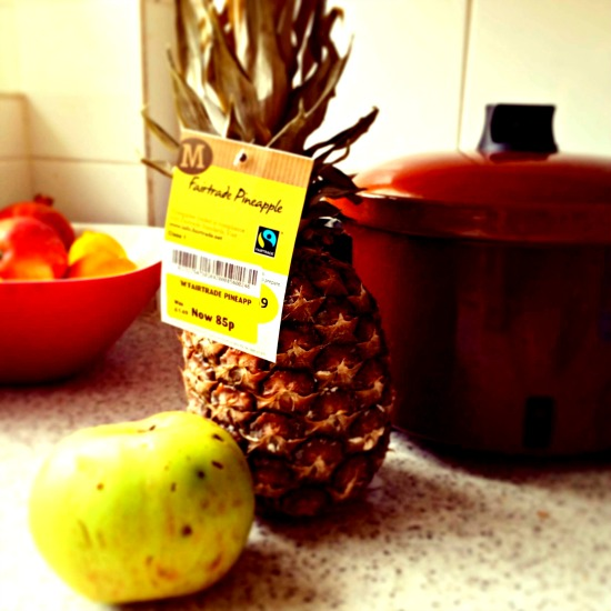 old pineapple recipe