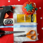 diy christmas gift bag supplies