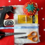 diy christmas gift bag supplies
