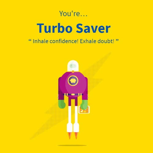 you are turbo saver