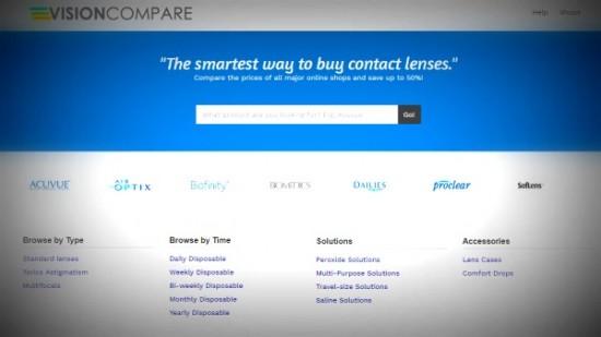 contact lens comparison site