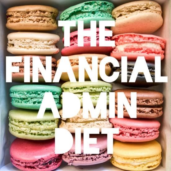 Financial Admin Diet