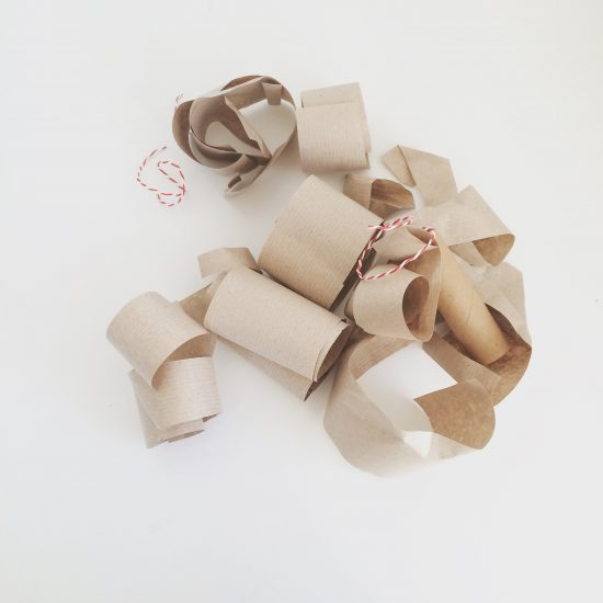 Use Brown Parcel Paper To Wrap Christmas Presents Miss