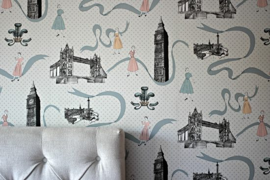 vintage wallpaper uk