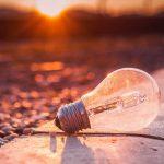 halogen light bulb - save money on energy bills
